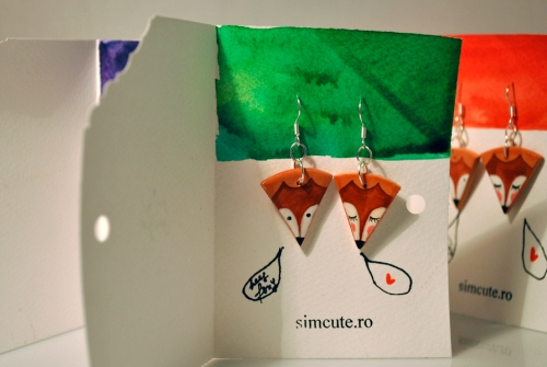 simcute_foxy earrings